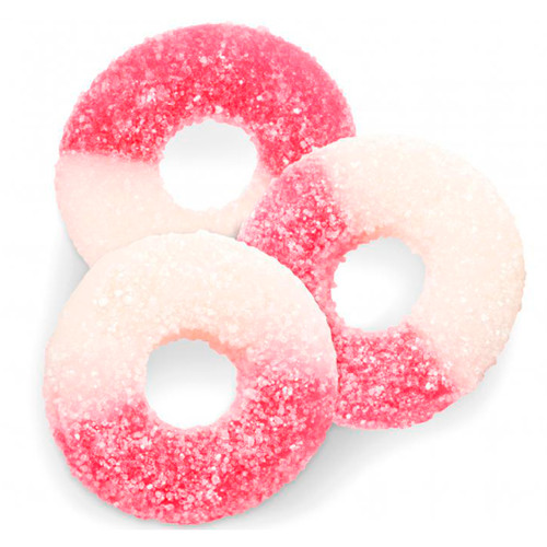 Watermelon Gummi Rings 4/4.5lb