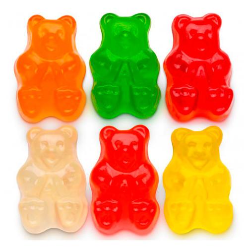 Assorted Gummi Bears, 6 Flavors 4/5lb
