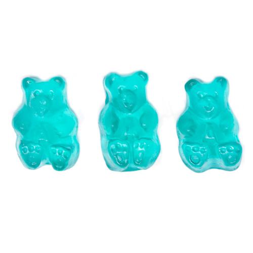 Light Blue Watermelon Gummi Bears 4/5lb