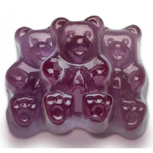 Concord Grape Gummi Bears 4/5lb