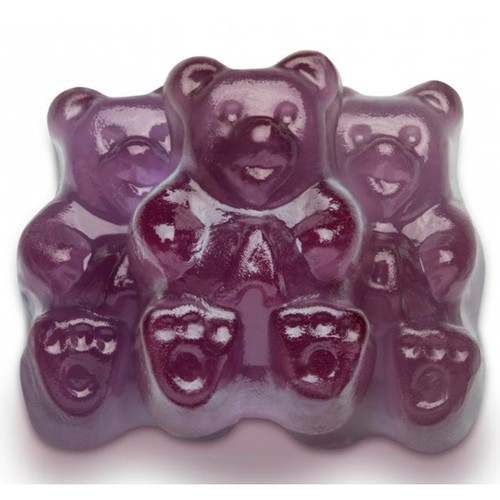 Concord Grape Gummi Bears 4/5lb