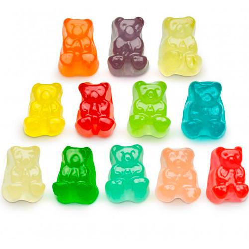12 Flavor Gummi Bear Cubs 4/5lb
