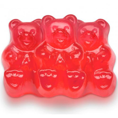 Fresh Strawberry Gummi Bears 4/5lb