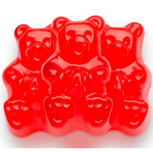 Wild Cherry Gummi Bears 4/5lb