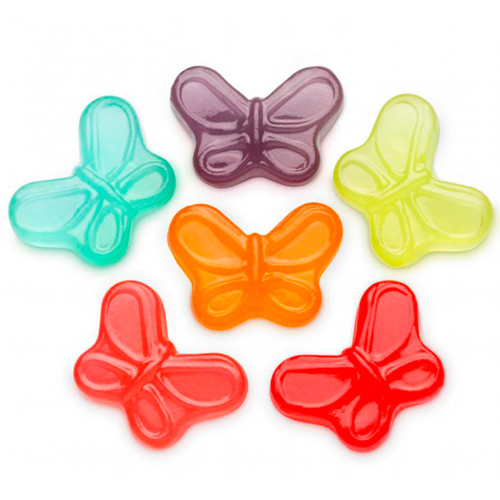 Mini Gummi Butterflies 4/5lb