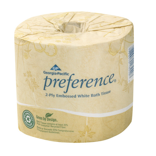 2-Ply Toilet Tissue 550 sheets/80ct