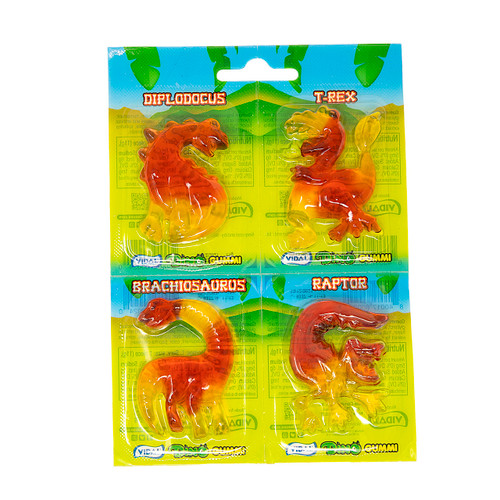 Dino Gummies 4 pack 6/18ct