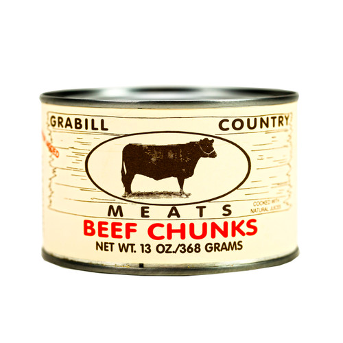 Beef Chunks 12/13oz