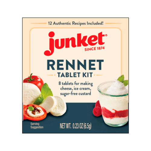 Junket Rennet Tablet 12/.23oz