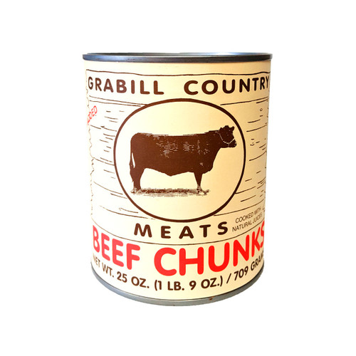 Beef Chunks 12/25oz