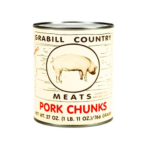 Pork Chunks 12/27oz