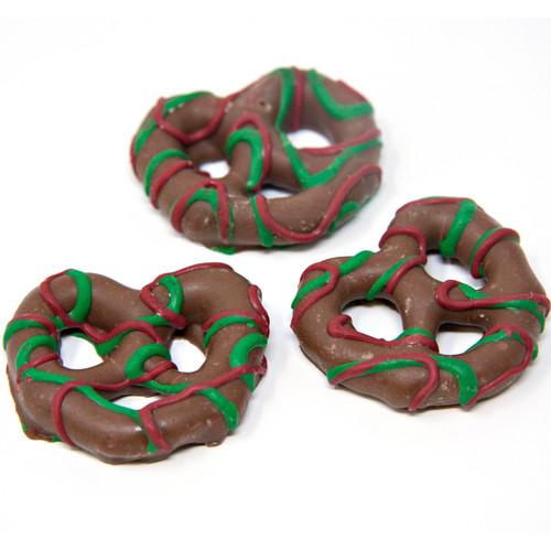 Christmas Chocolate Pretzels 15lb
