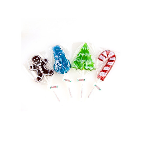 Assorted Christmas Frosted Pops 24ct