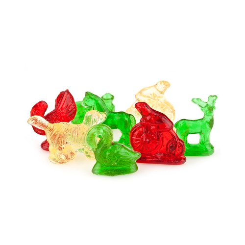 Assorted Old Tyme Mini Clear Toy Candy 10/8oz