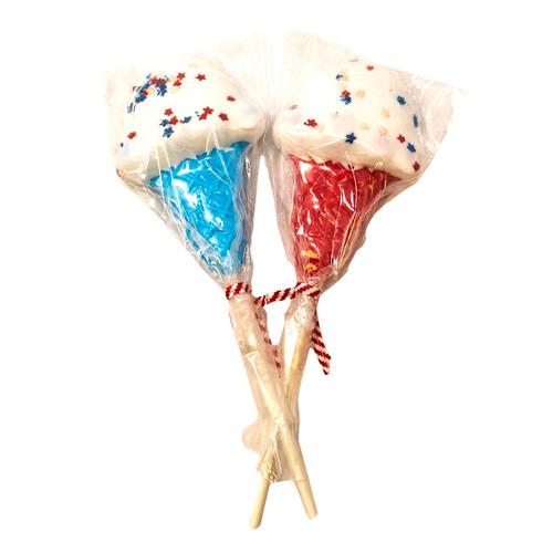 Patriotic Ice Cream Pops 24ct
