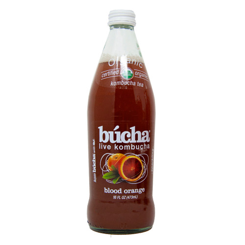 Organic Blood Orange Kombucha 12/16oz