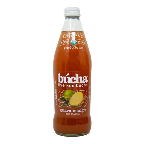 Organic Guava Mango Kombucha 12/16oz