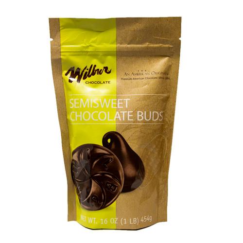 Wilbur Semisweet Chocolate Buds 24/1lb