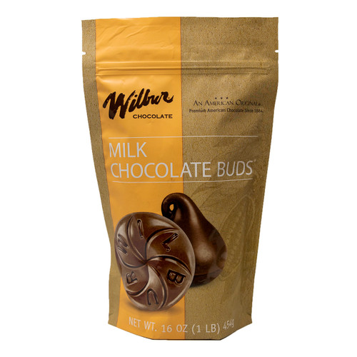 Wilbur Milk Chocolate Buds 24/1lb View Product Image
