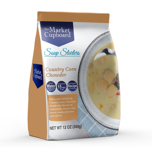 Country Corn Chowder Soup Starter 6/12oz