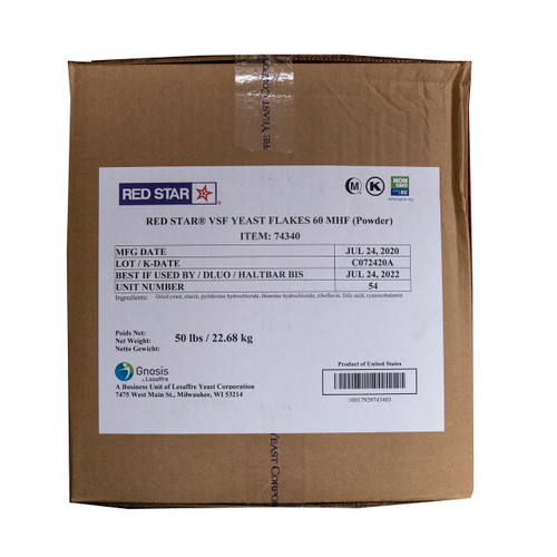 VSF Yeast Flake Powder 50lb View Product Image