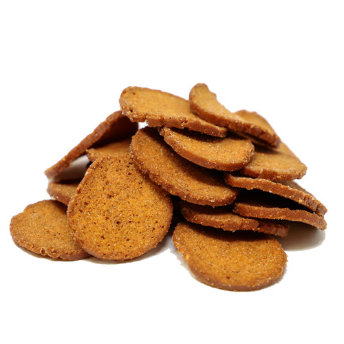 Mini Rye Worcestershire Bagel Chips 10lb