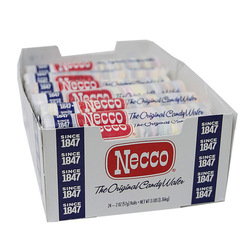 Necco Wafer Rolls 12/24ct
