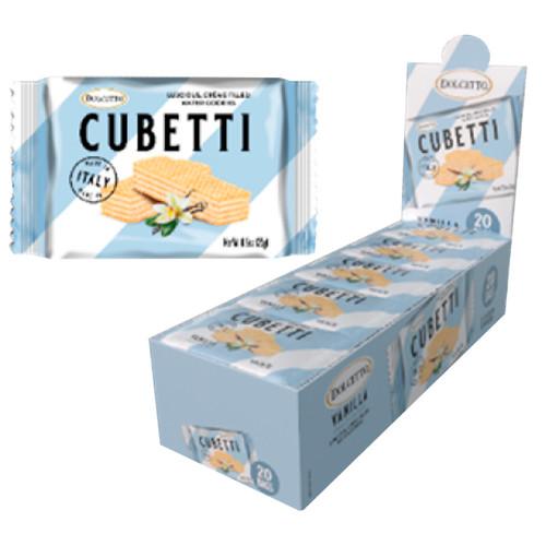 Cubetti Vanilla Wafers 20ct