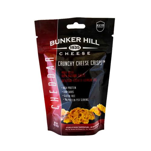 Crunchy Cheese Crisps, Cheddar 12/2oz