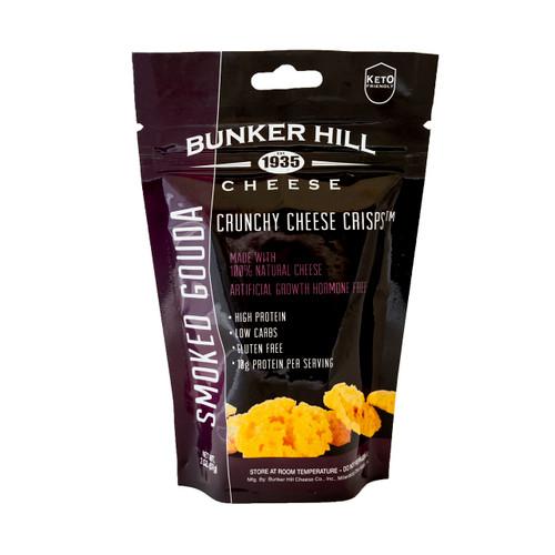 Crunchy Cheese Crisps, Smoked Gouda 12/2oz