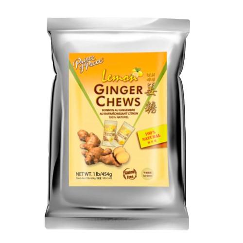 Lemon Ginger Chews 12/1lb