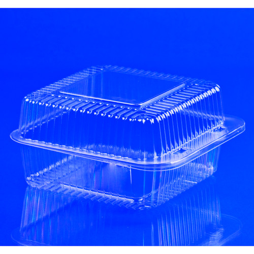 """Square Container 6.125""""x6.5""""x3.25"""" 500ct View Product Image"""