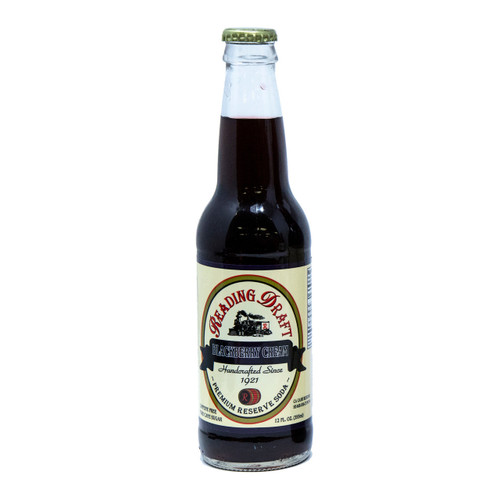 Reading Soda Works Black Berry Cream Soda 12/12oz View Product Image