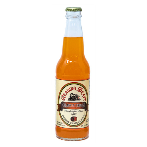 Reading Soda Works Orange Cream Soda 12/12oz View Product Image