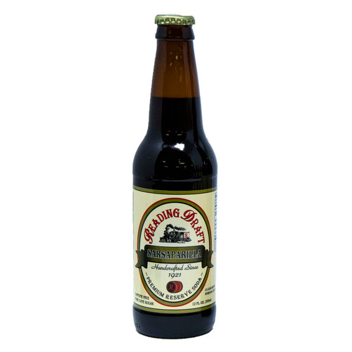 Reading Soda Works Sarsaparilla Soda 12/12oz View Product Image