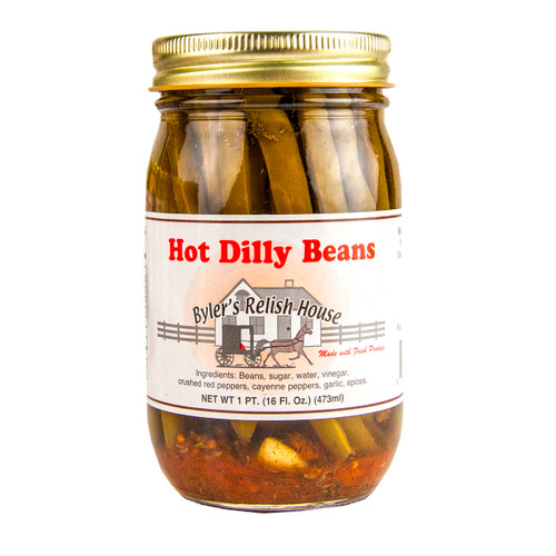 Hot Dilly Beans 12/16oz View Product Image