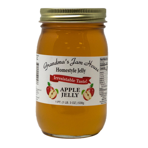 Homestyle Apple Jelly 12/16oz View Product Image