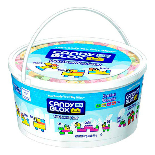 Candy Blox Tub 6/27oz View Product Image