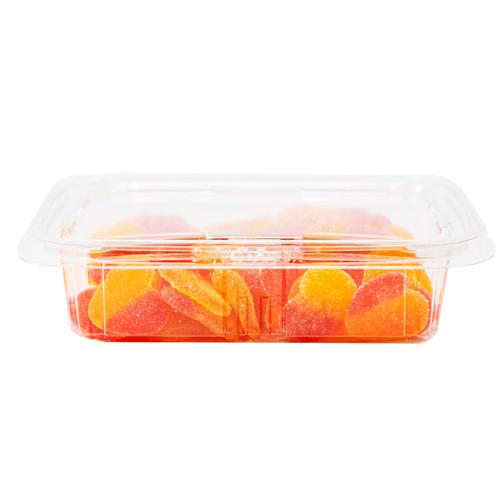 Gummi Peach Hearts 12/11oz View Product Image