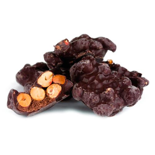 Dark Chocolate Peanut Cluster 20lb View Product Image