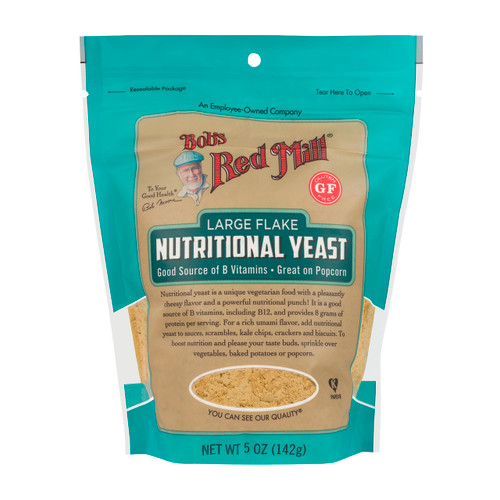 Nutritional Yeast, Gluten Free 4/5oz View Product Image