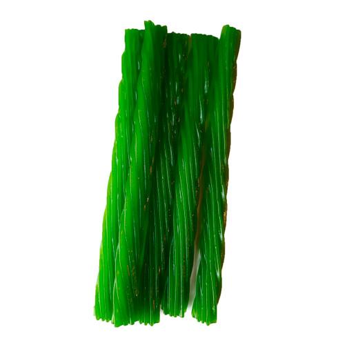 Jumbo Licorice Twists, Green Apple 12/8oz View Product Image