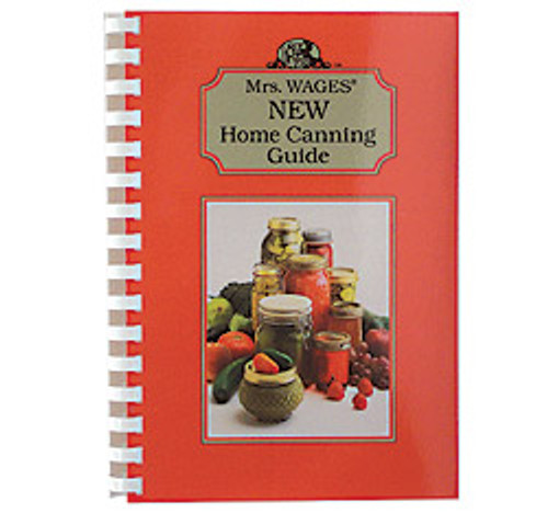 1bk Mrs. Wages New Home Canning Guide