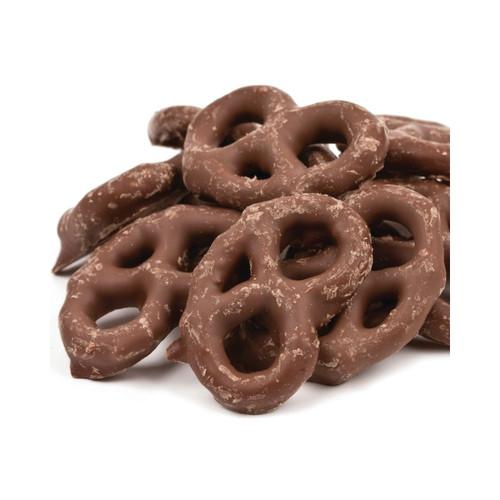 Chocolate Coated Mini Pretzels 15lb