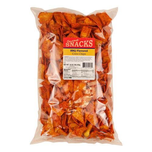 BBQ Corn Chips 12/16oz