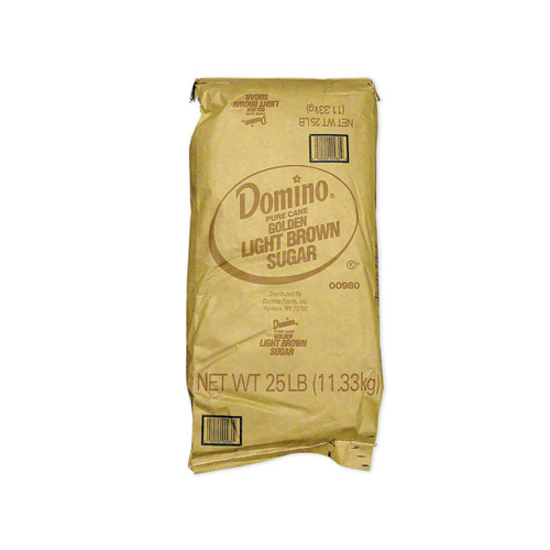 Domino Light Brown Sugar 25lb
