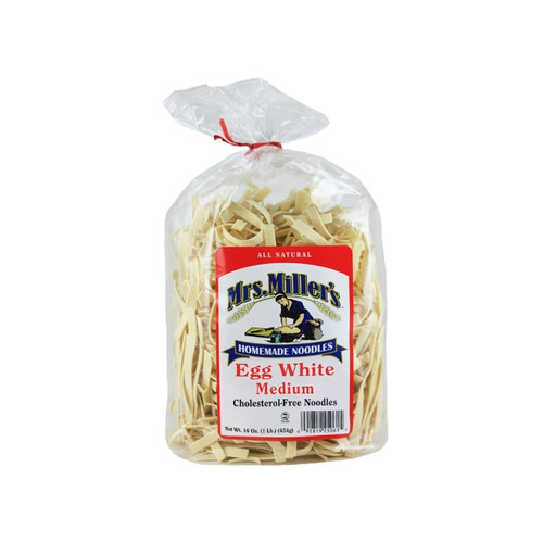 Egg White Medium Noodles, No Cholesterol 6/16oz View Product Image
