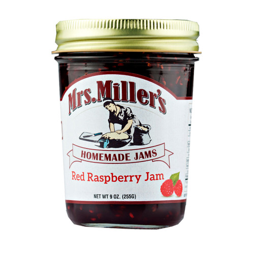 Red Raspberry Jam 12/9oz View Product Image