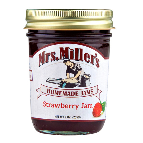 Strawberry Jam 12/9oz