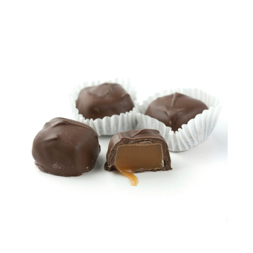 Milk Chocolate Vanilla Caramels, Sugar Free  6lb